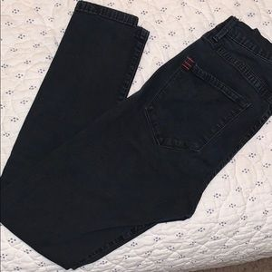 Urban outfitters high-waisted black jeans